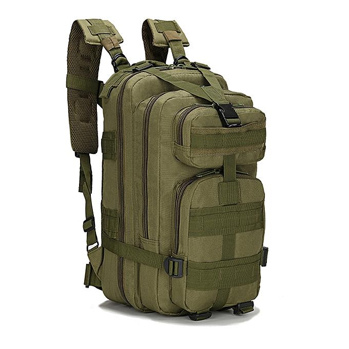 Other Camping sac à dos 25L Survival Gear Pack Big capacité Molle sac Functional Daypack sac à doss for de plein air voyage Hiking Shooting à prix pas cher