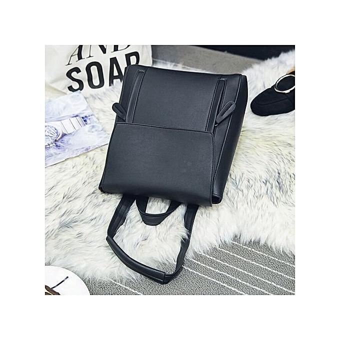 Generic femmes Girl cuir sac à dos Shoulder Booksacs School sac Satchel voyage sac à dos à prix pas cher