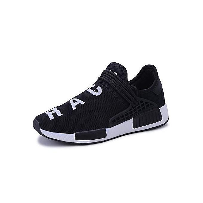 Generic Super grand Taille Sport chaussures Young Hommes's Respirable Colth Race Décontracté chaussures Lace-Up de plein airs paniers à prix pas cher