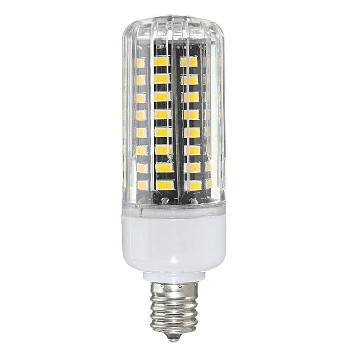 UNIVERSAL E17 E14 E12 G9 GU10 7W 72 SMD 5730 LED Pure blanc Warm blanc Natural blanc Cover Corn Bulb AC85-265V - E17 à prix pas cher
