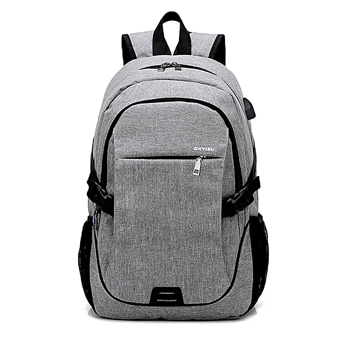UNIVERSAL Canvas Bag Backpack Sports Riding Backpack Student Bag Outdoor Camping Business Bag à prix pas cher    Jumia Maroc