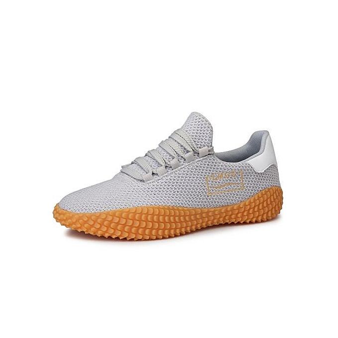 mode Pour des hommes Espadrilles mode paniers Décontracté toile chaussures gris à prix pas cher