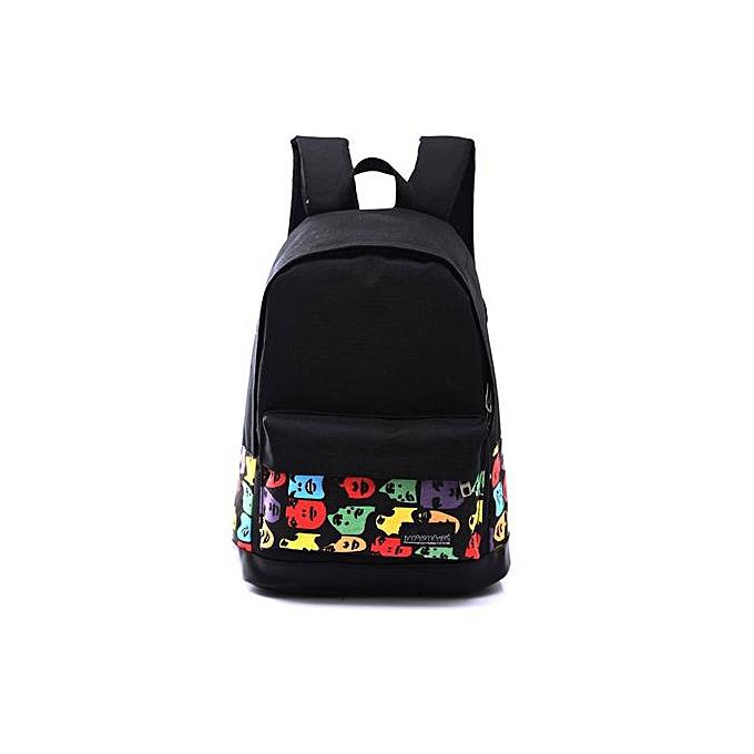 mode Xiuxingzi_Girls garçons Unisex toile sac à dos sac à dos School Book Shoulder sac à prix pas cher