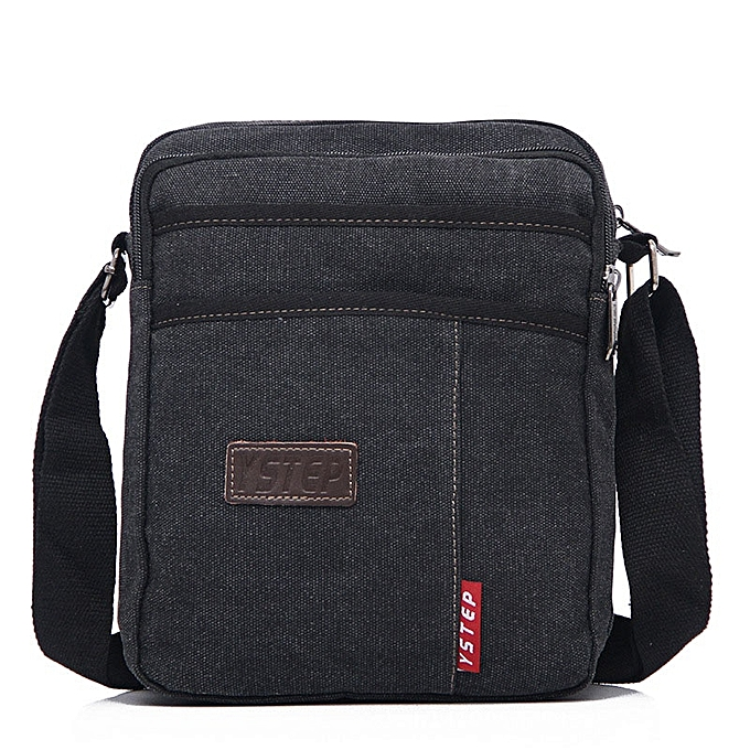 Other Men's Crossbody Bag Small Sacoche Homme Brand Bag Men Messenger Bags Satchel Man Satchels Bolsos Canvas Travel Shoulder Bags(noir) à prix pas cher