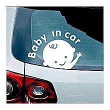 Car Decal / Vinyl Sticker U0026#039;u0026#039;Baby In Caru0026