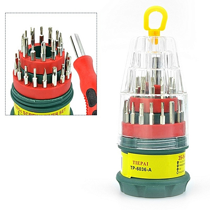 Other 31 In 1 Manual Multifunction Maintenance Screwdriver Combination Tool Set à prix pas cher