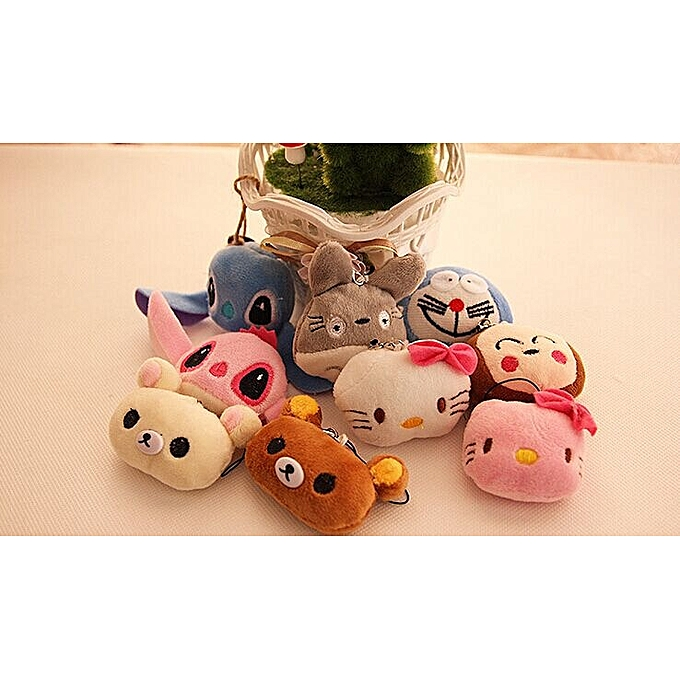 Autre Kawaii Multi  Choice Mini 3cm Totor , Cat Etc. Plush gift toy , stuffed plush stbague key chaîne Toy doll , soft toys for bouquet(3) à prix pas cher