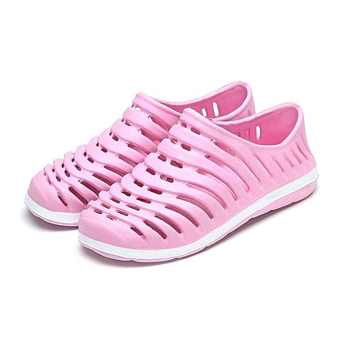 Fashion Fashion femmes Men Large Taille Hollow Out Breathable Beach Casual chaussures Flat Sandals-EU à prix pas cher