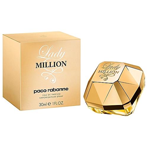 Paco Rabanne Lady Million Eau De Parfum 30 Ml à Prix Pas Cher