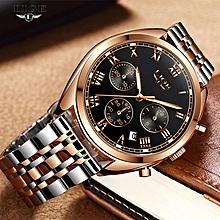 30e232446 Relojes 2018 Mens Watches LIGE Top Brand Luxury Man Waterproof Quartz Clock  Fashion Business Wristwatch Relogio