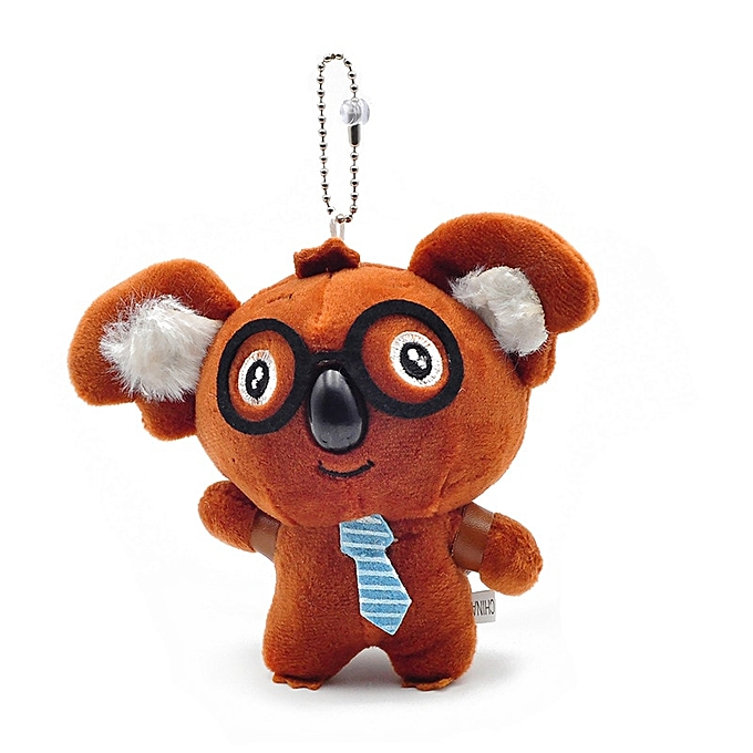 Autre Cute Little 9cm Approx Unicorn Plush Toys for Christmas Keychain Unicorn Plush Doll Toy Kids Gift Small Pendant Chain(koala coffee same ph) à prix pas cher