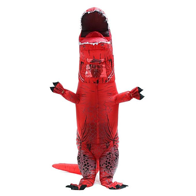 OEM Inflatable Dinosaur Costume Adult Jurassic World Park BFaibleup Fancy Robe Suit G à prix pas cher