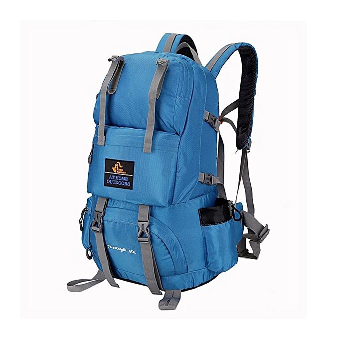 Fashion 40L Lightweight Travel Climbing Bag Travel Backapck Waterproof Trekking Bag for Men femmes à prix pas cher
