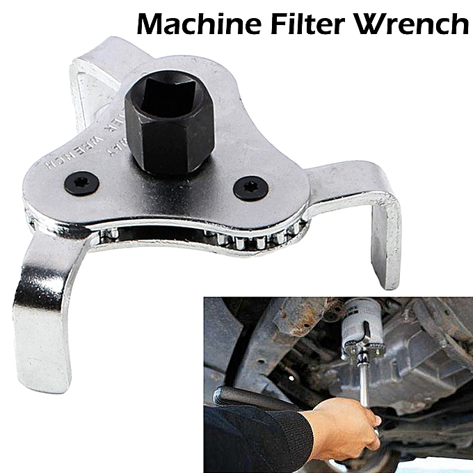 Autre Auto Oil Filter Wrench Car Repair Tools Adjustable Two Way Oil Filter Wrench 3 Jaw Remover Tool For Cars Trucks 53-108mm à prix pas cher