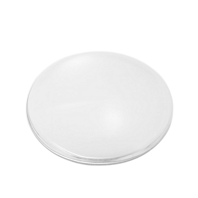UNIVERSAL 100Pcs 8-30mm Clear Round Glass Dome Flatback Cabochon Cover Scrapbooking DIY 20mm à prix pas cher