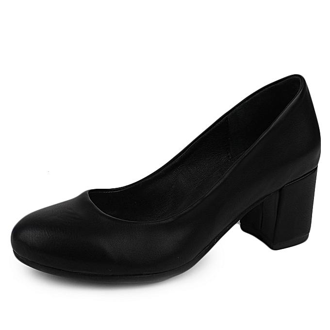 Lioni à pas prix Noir Compensées Chaussures cherJumia Maroc IDWE92HY