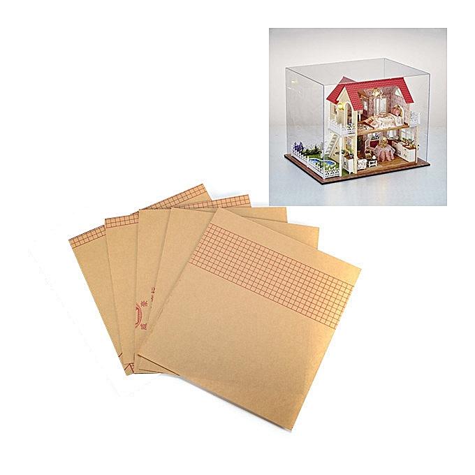 UNIVERSAL CuteRoom DIY Transparent Display Box Dust-proof Cover Dollhouse Princess Room  - à prix pas cher