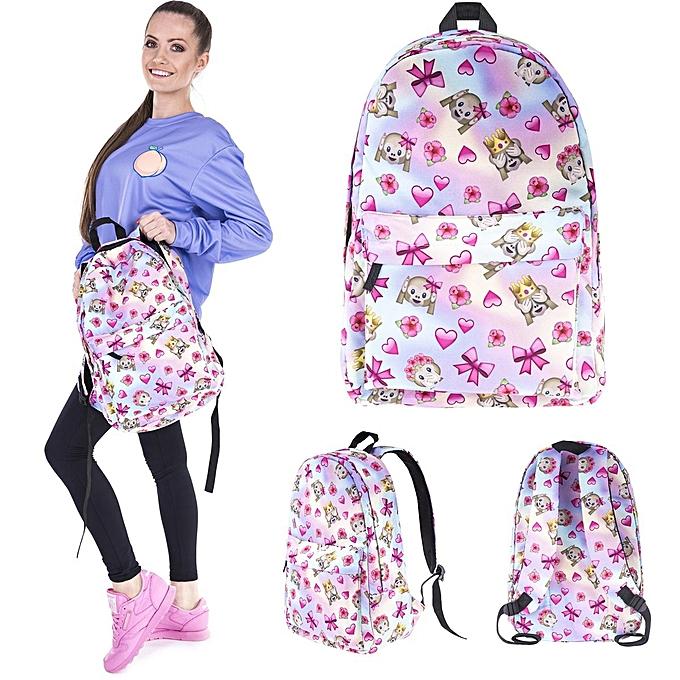 UNIVERSAL 3D Print Monkey Backpack Multi Couleur Travel Rucksack School College Bags New à prix pas cher