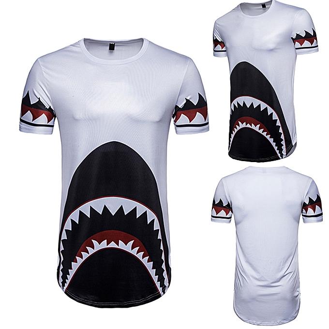 mode meibaol store Hommes& 039;s été Décontracté Print manche courte T-shirt Top chemisier  à prix pas cher