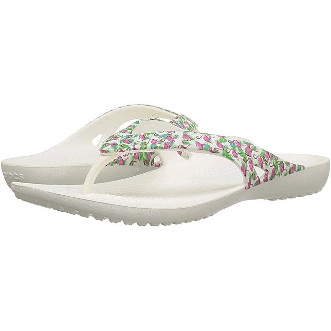 Crocs Crocs - Kadee II Graphic Flip femme Sandal - US Tailles à prix pas cher