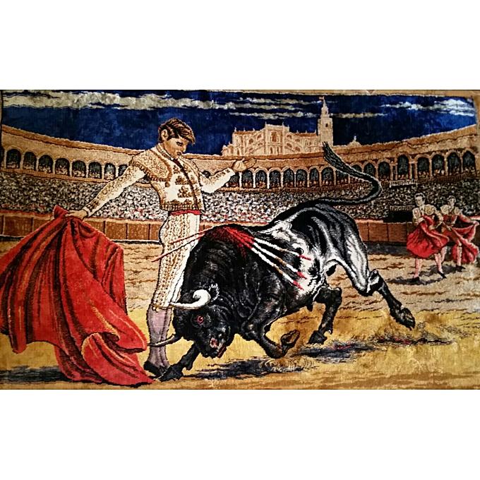 Generic Tapis spectacle des taureaux à prix pas cher