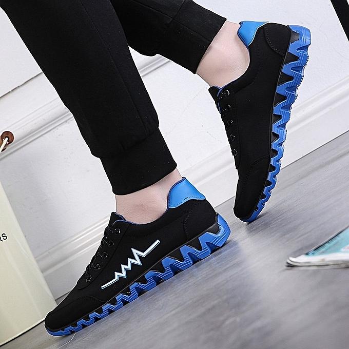 Other mode Hommes's Décontracté Korean Plate Spbague nouveau Coconut Cloth Sports respirant chaussures-bleu à prix pas cher
