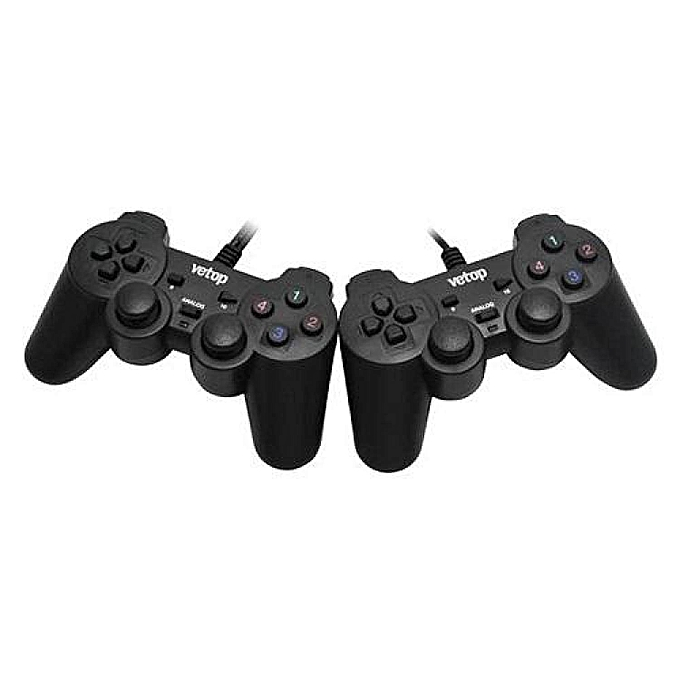 Other Vetop Usb Shock Joypad (Twin Pack) 706D Kd-2008B 6001 LBQ à prix pas cher