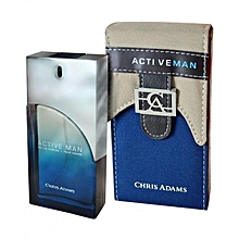 64497c96a316e CHRIS ADAMS Active Man 100ml - عطر رجالي مميز