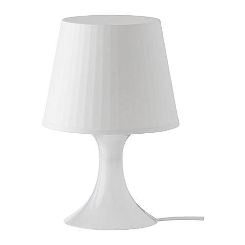 Ikea Lampe De Table Blanche En Plastic Ampoule Led جوميا المغرب