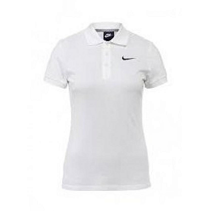 3b40a3f8692196 Commandez Nike T-shirt Femme Advantage Polo Swoosh à prix pas cher ...