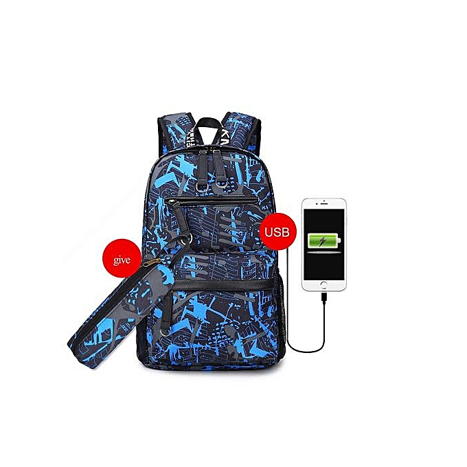 Fashion Singedan15.6 Inch Laptop Backpack For Boy Schoolbag Men noir Bag -E à prix pas cher