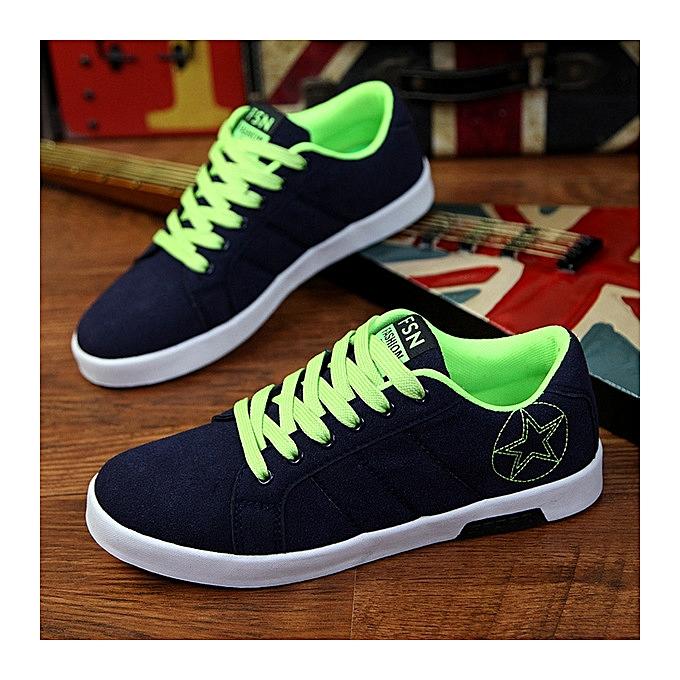 OEM nouveau respirant hommes Décontracté chaussures chaussures hommes chaussures sports chaussures-vert à prix pas cher