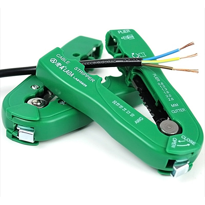 Autre Multi-Function Cable Stripper  Wire Stripper Range 0.08-6mm2 FS-D3 Self-Adjusting Insulation High Quality Wire Stripping Tool à prix pas cher