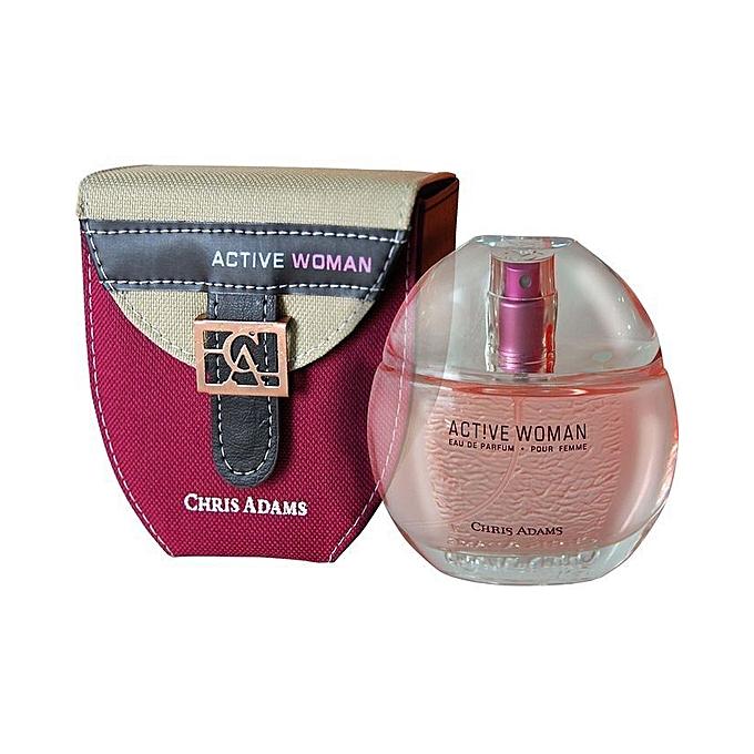 6f3c19a72 CHRIS ADAMS Active Woman - Eau de Parfum - 80 ml | جوميا المغرب