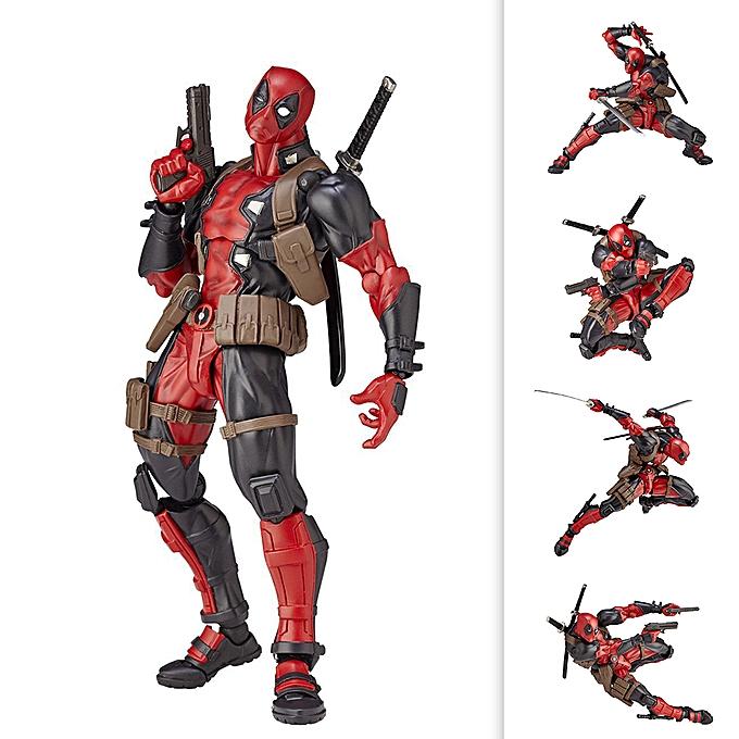 Autre Crazy Toys Cartoon PVC Action Figure Change Face Collectible Model Toy rouge Boxed Super Heros Dolls à prix pas cher