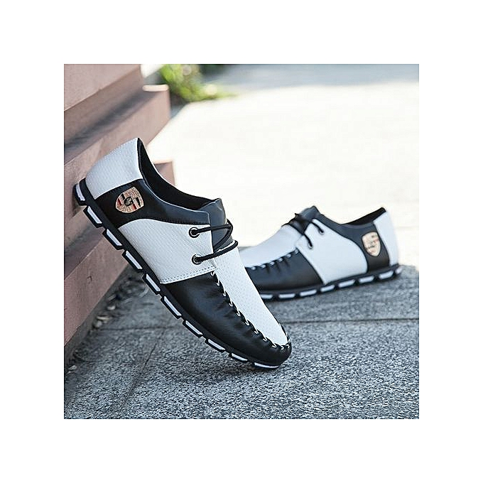 Other Casual Men's Flat Leather chaussures à prix pas cher