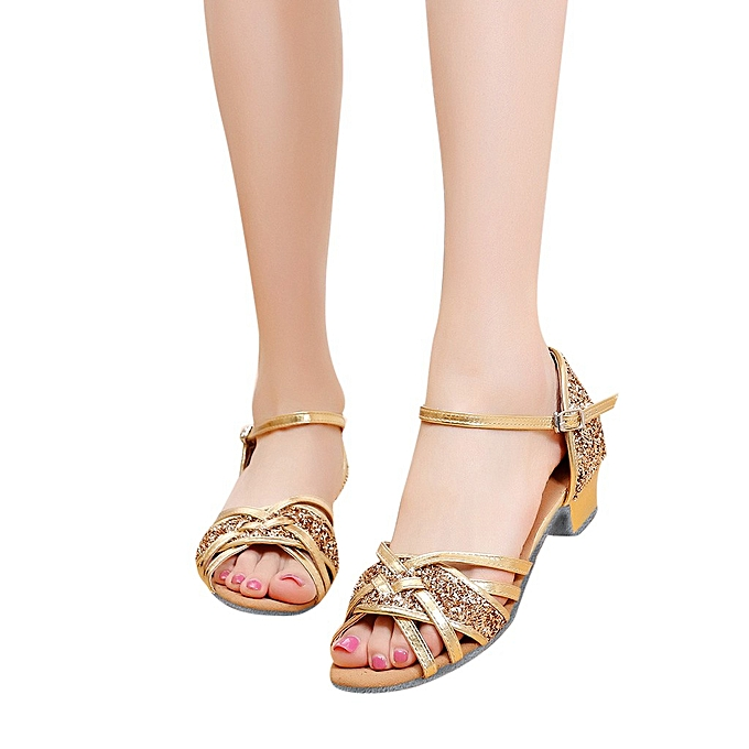 Fashion (Xiuxingzi) femmes Fashion Dancing Rumba Waltz Prom Ballroom Latin Salsa Dance chaussures Sandals à prix pas cher    Jumia Maroc