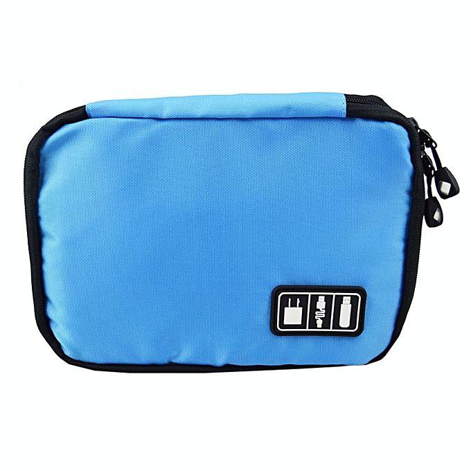 Other Couleur Storage Bag Digital Fashion Organizer System Kit Case Devices Earphone Wire Pen USB Data Cable Travel Insert à prix pas cher