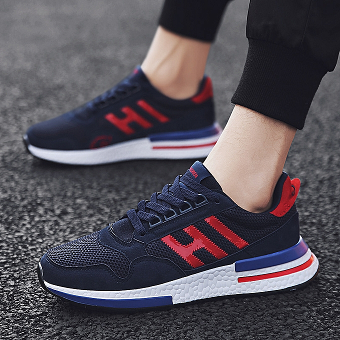 Fashion Men's chaussures hommes sports and leisure chaussures Korean version of the trend of wild running tide chaussures summer net chaussures à prix pas cher    Jumia Maroc