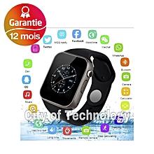 477d7bc1b46fe Smart watch AA A1 Montre intelligente Connectée appel message bluetooth  Noir smart v8