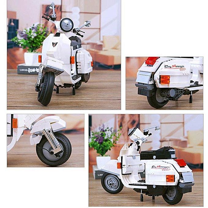 OEM XINGBAO Moto Building Block Sets Jouets Cadeau Éducatif Fidget Jouets 732 Push Pcs   03002 à prix pas cher