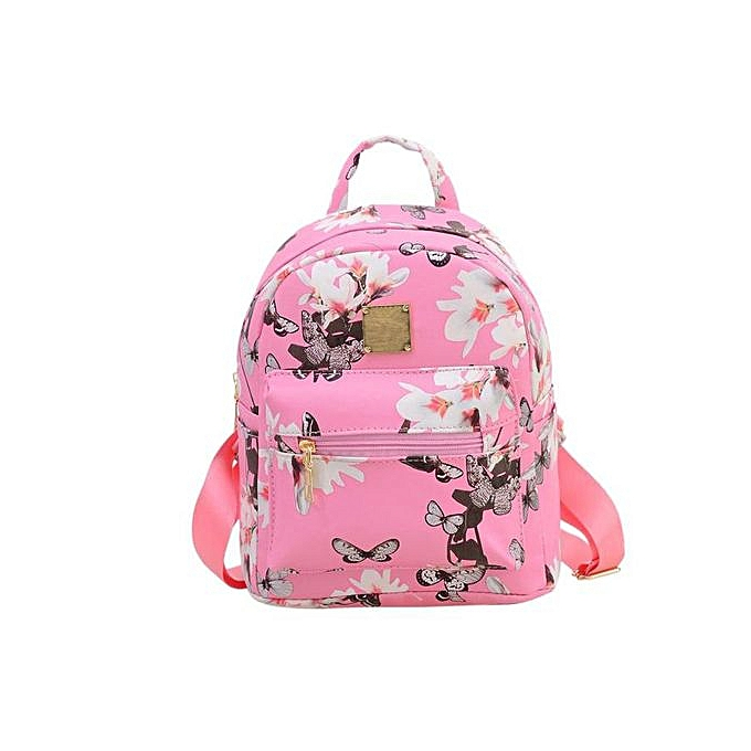 Fashion Correponde femmes Backpack Causal Floral Printing Leather Bag à prix pas cher