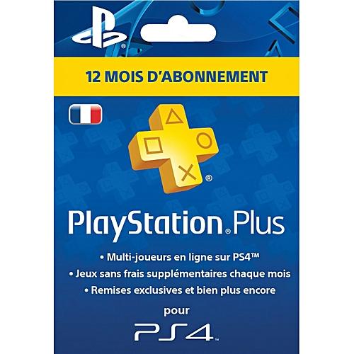 playstation plus card psn abonnement 12 mois france. Black Bedroom Furniture Sets. Home Design Ideas