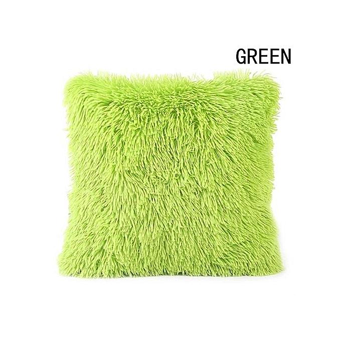 Fancyqube stylish plush throw pillow case sofa waist throw for Aide gouvernementale achat maison