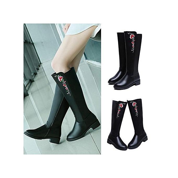 Commandez Fashion Bottes Pour Femmes - Noir à prix pas cher   Jumia ... cf624a42544d