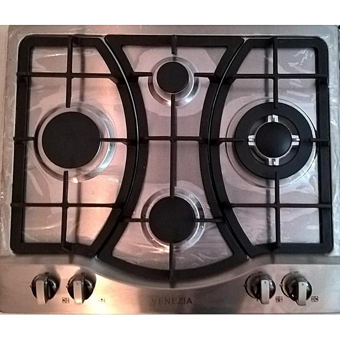 venezia plaque de cuisson 4 feux gaz lectrique prix. Black Bedroom Furniture Sets. Home Design Ideas
