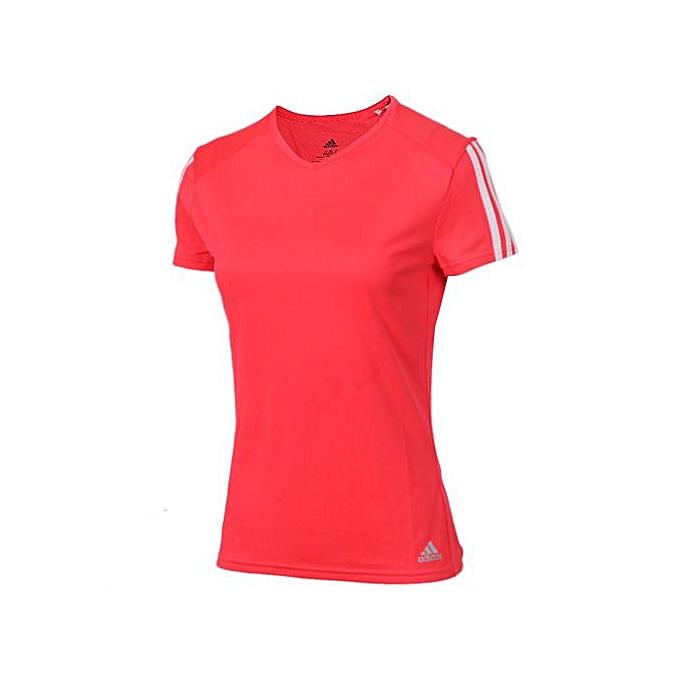 Adidas Wohommes rouge Sports T-Shirt DX2020 à prix pas cher