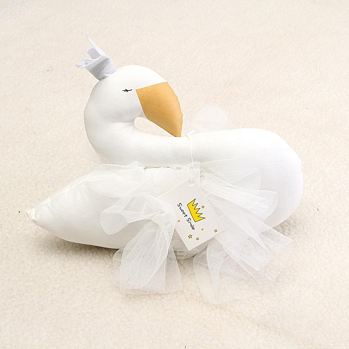 UNIVERSAL Cute Handmade Enfants   Princess Swan Stuffed Toys Wall Hanging Home Decoration à prix pas cher