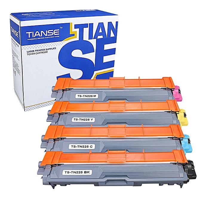 Generic 4 Pack TIANSE TN225 Compatible Toner Cartridge Great For Most Printers à prix pas cher