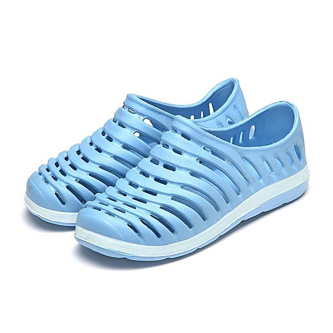 Fashion Fashion femmes Men Large Taille Hollow Out Breathable Beach Casual chaussures Flat Sandals-EU à prix pas cher